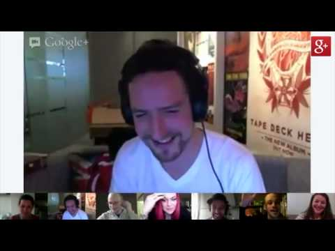 Frank Turner FTHC Google+ Hangout Highlights