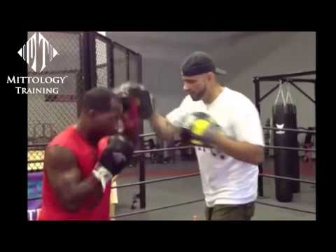 Coach Rick: #FBF Focus Mitt Work Training - Developing the Jab / Mittology Padwork Instruction Image 1