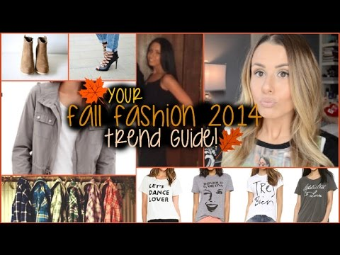 MY FALL FASHION 2014 TREND GUIDE!