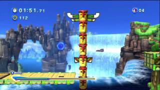 Sonic Generations: Modern Green Hill: No Boosting (HD)