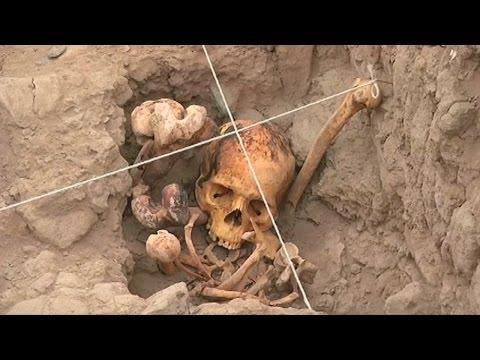 Descubren tumbas prehispánicas que asombran a los arqueólogos