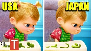 10 Animated Movie Changes In Other Countries