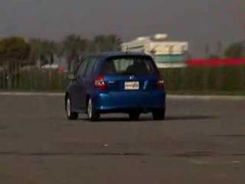 2007 Honda Fit Sport   Road Test   Edmunds.com