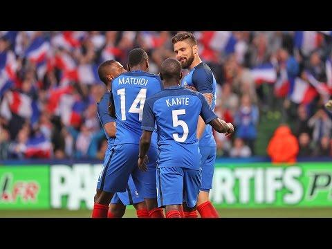 France-Ecosse : 3-0, le premier but d'Olivier Giroud