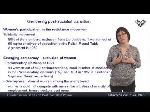 Religion and Politics in Poland: Challenges for Gender Equality, part 3