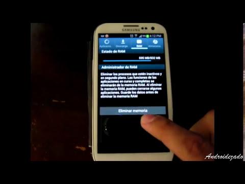 Aumentar Velocidad Samsung Galaxy SIII