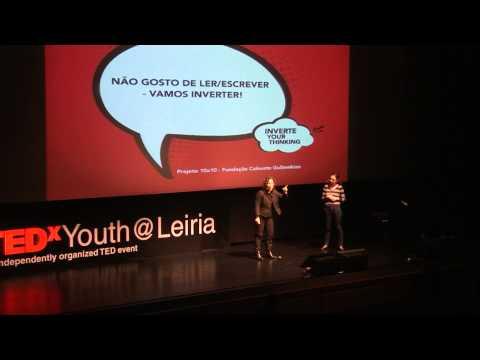 Projeto 10x10 -- fundação calouste gulbenkian   Maria Bárcia e Maria Gil   TEDxYouth@Leiria