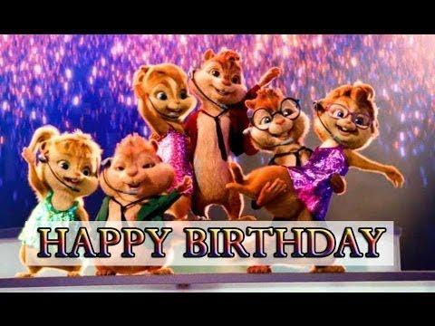 Top Chipmunks Happy Birthday Song [2018] | Funny Birthday Song