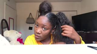 All Clip Of 2 Buns Hairstyle With Weave Bhclip