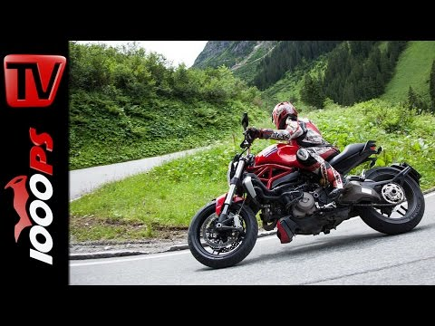Ducati Monster 1200 2014 - Test in den Alpen
