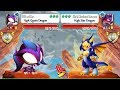 High Queen Dragon Vs High Star Dragon In Lap 4 Dragon City Heroic Racing mp3