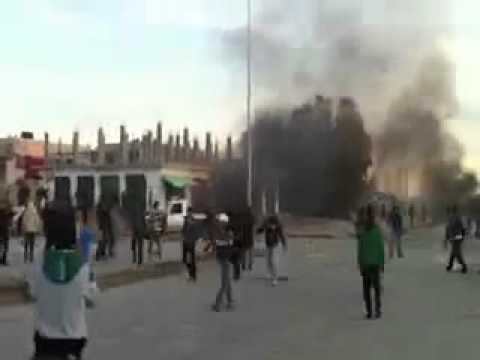 البيضاء (1) 16 -2-2011.ثورة ليبيا - Uprise in Libya - El Baida