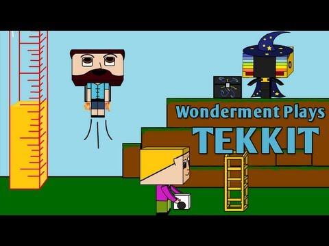 #11 Wonderment Plays Tekkit - Copper Cable Production!