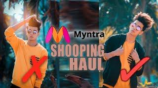 Myntra EORS Shopping Haul 🔥 SAYAN 🔥