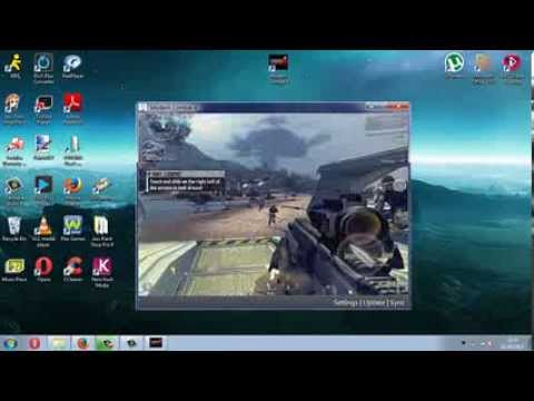 how to play modern combat 4 on pc