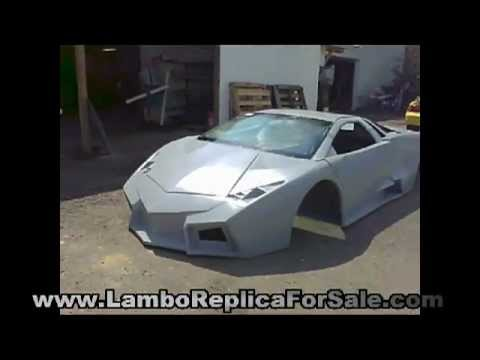 Lamborghini Reventon Roadster Replica Kit Car Project Video 1