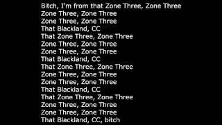 Denzel Curry - Zone 3 HD lyrics on screen