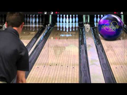 900 Global Dream On Bowling Ball Video