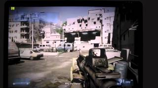 Macbook Pro retina Game test battlefield 3