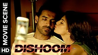 Jacqueline takes naughty selfies with John | Dishoom | Movie Scene