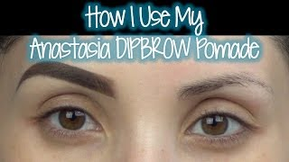 "Anastasia Beverly Hills ""DIPBROW"" Demo"