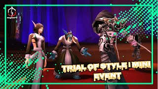 TRIAL OF STYLE | MINI EVENT | WORLD OF WARCRAFT 🎮🎮🎮