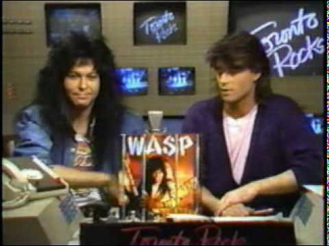 Toronto Rocks Blackie Lawless (WASP) interview 1987