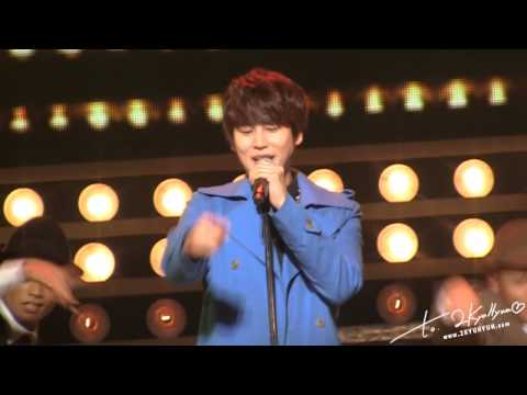 130122 KRY. Special Concert in Budokan 'LA LA LA Love Song' - KYUHYUN CUT (2KYUHYUN)