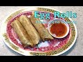 How to Make Egg Rolls or Spring Rolls cheekyricho cooking video recipe ep. 1,208