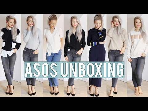ASOS Unboxing, Haul and Try On | Inthefrow