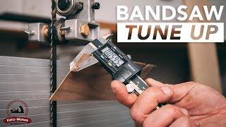 Bandsaw Tune Up, Setup and Maintenance