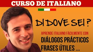 Curso de Italiano 2 Aprender Italiano - Frases en Italiano: De Donde Eres? (Extendida)