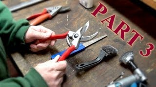 How To Maintain Felco Pruning Shears Part 3: Assembly And Lubrication