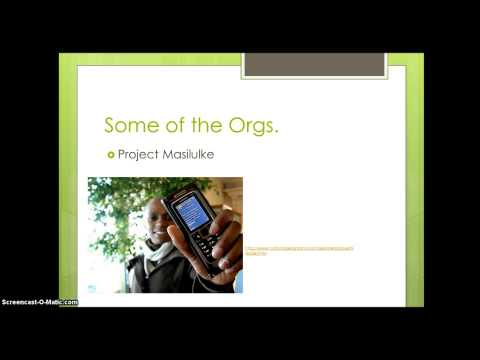 Mobile Phones for Health Education