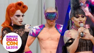 Ongina & Morgan McMichaels Host a Runway Show at RuPaul