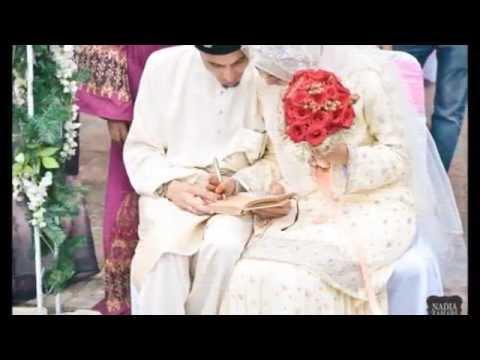 Ustaz Don Daniyal dan Husna Zahry Wedding