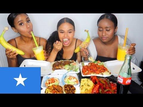SOMALI FOOD MUKBANG   FENTY vs. KYLIE & INSECURE REVIEW thumbnail