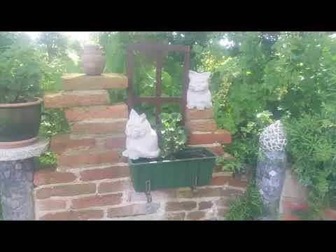 Knetbeton DIY:Eine Katze Für Den Garten
