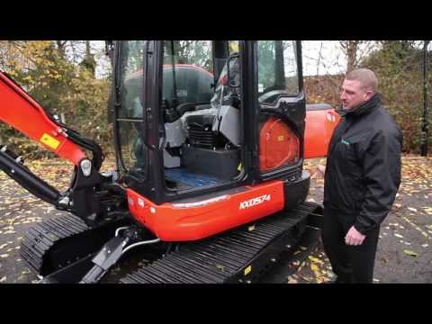 Kubota KX 057-4 Mini Excavator - Walk Around