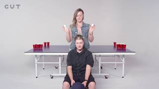 Exes Play Fear Pong (Amanda vs. Haley) | Fear Pong | Cut