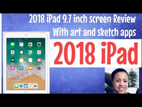 2018 iPad with Apple Pencil