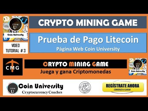 Prueba de Pago #1 de Crypto Mining Game | Vídeo Tutorial #3