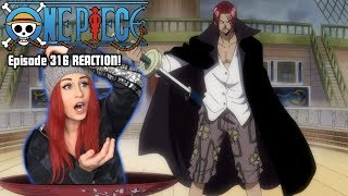 SHANKS and WHITEBEARD! One Piece Episode 316 REACTION!