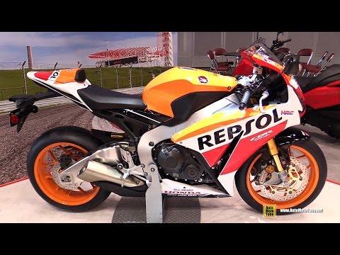 2015 Honda CBR1000RR Fireblade Repsol - Walkaround - 2014 New York Motorcycle Show