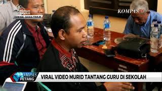 Video Murid Tantang Guru Viral, Polisi Berikan Mediasi
