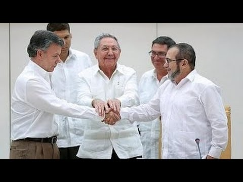 Breakthrough deal in Colombia Farc talks