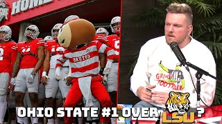 Pat McAfee's Thoughts on Ohio State's #1 Playoff Spot