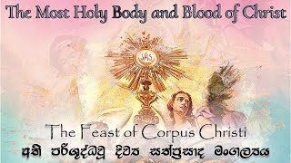 Solemnity of The Most Holy Body and Blood of Christ - 2021