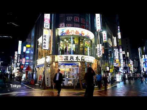 UHD Ultra HD 4K 8K Time Lapse Stock Footage Video Showreel 2012 - Night Rush Around 3