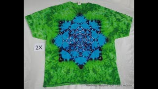 How to Tie-Dye Lotus Mandala pt 1 ~ Tying